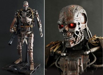 T 600 Terminator Salvation Terminator Salvation Toys (T-600 and T-700) | ThinkHero.com – Sci-Fi ...