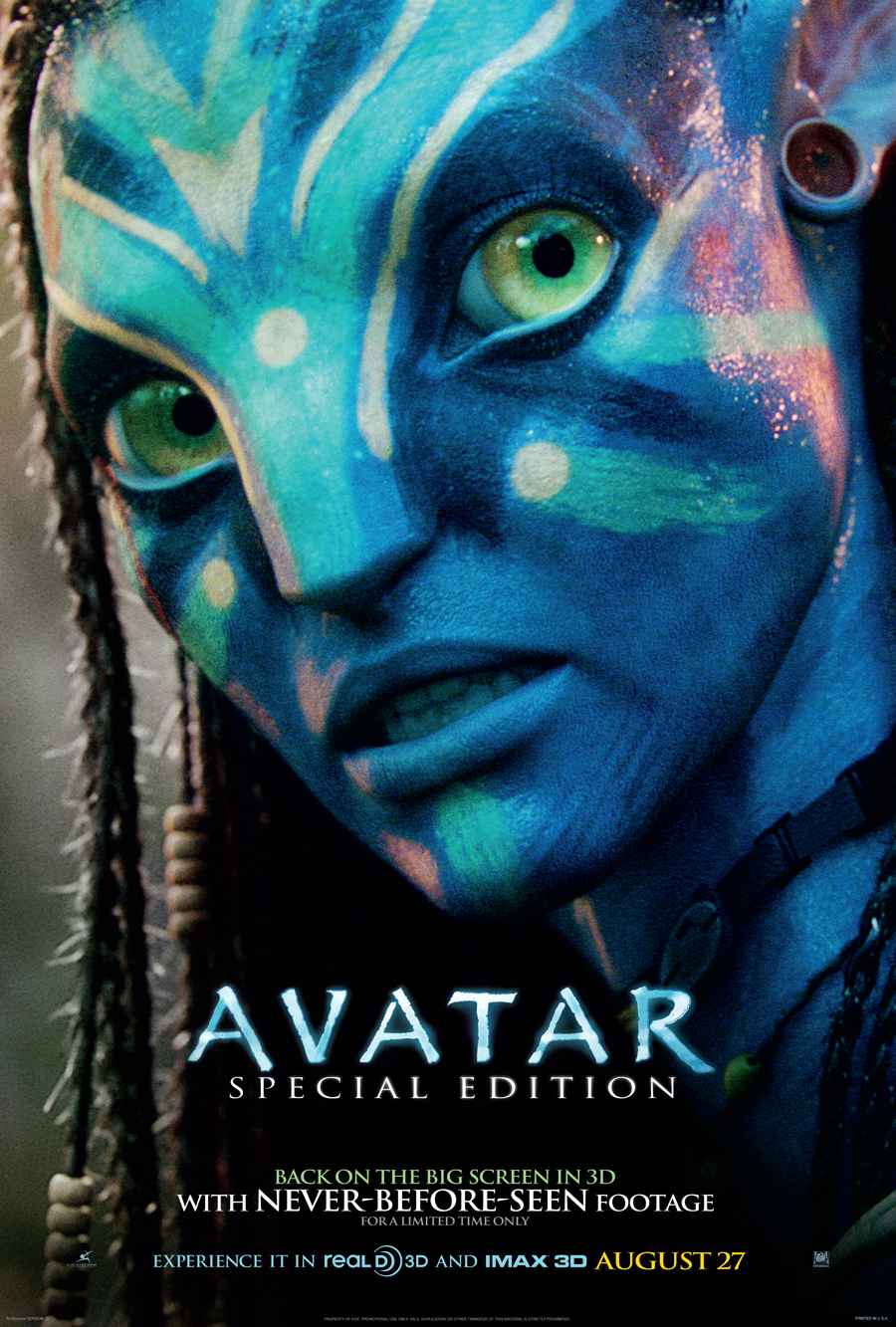 lsodpsoiuydf avatar 2009 movie poster