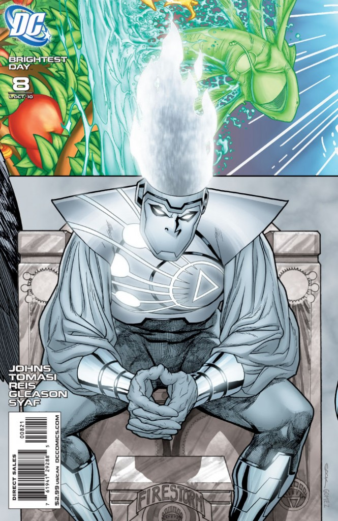 Brightest Day Issue 8 cover