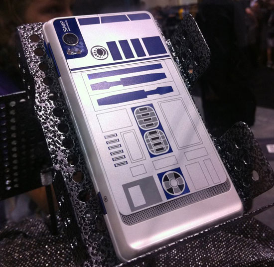 Super Cool R2D2 Limited Edition DROID Phone (PIC ...