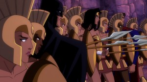 Batman and the Amazons from Superman/Batman: Apocalypse