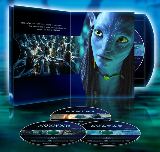 Avatar Movie Cast Members: 'Avatar' Extended Edition Trailer And Cover Artwork (VIDEO
