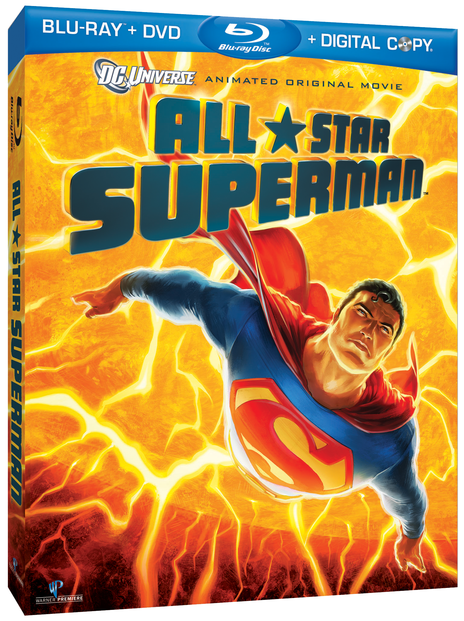 All Star Superman DVD Cover Art