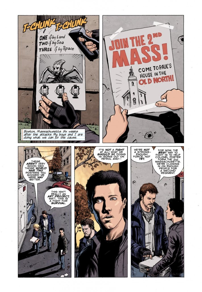 falling skies issue 1 page 1