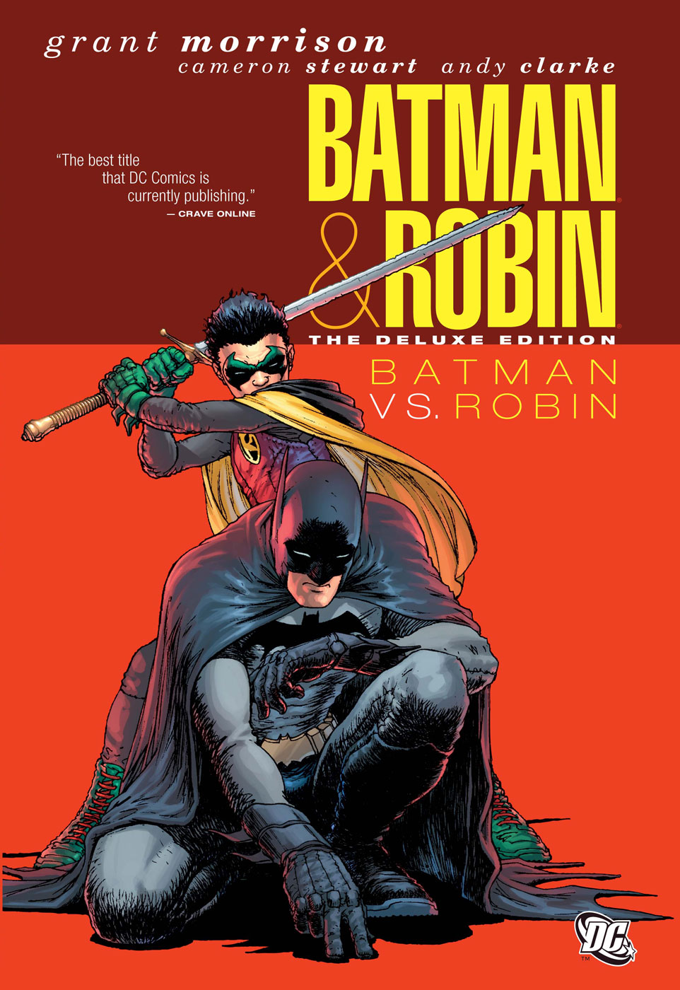 Batman and Robin Cover