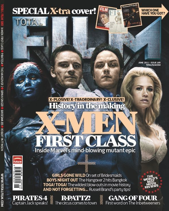 Four \'X-Men: First Class\' Retro Style Total Film Covers (PICS ...