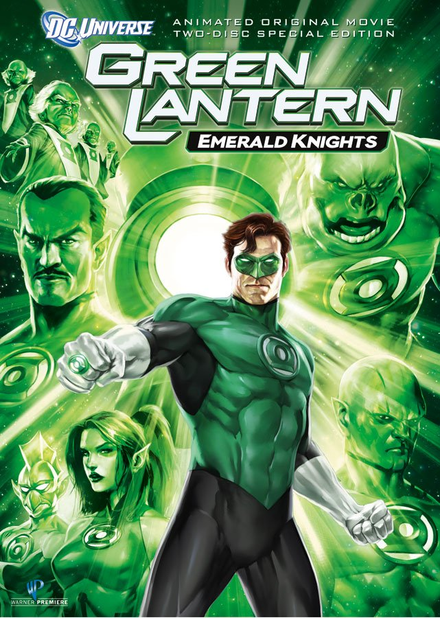 FILM Green Lantern Emerald Knights