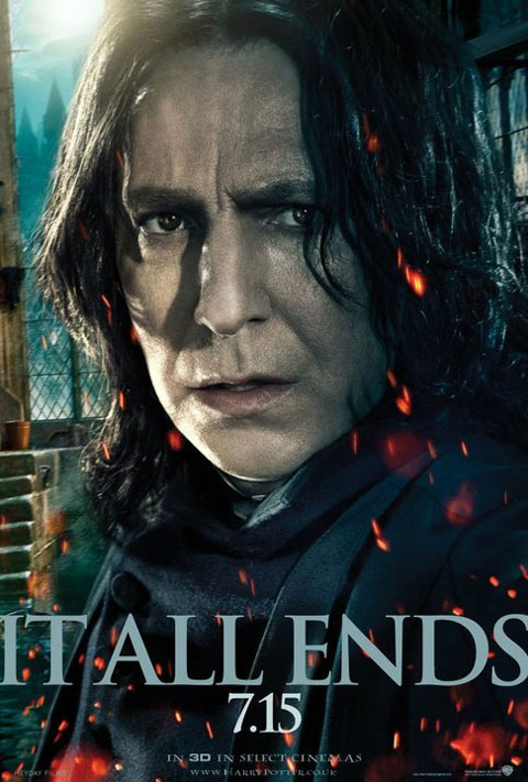 alan rickman harry potter and the deathly hallows. Here is another Harry Potter