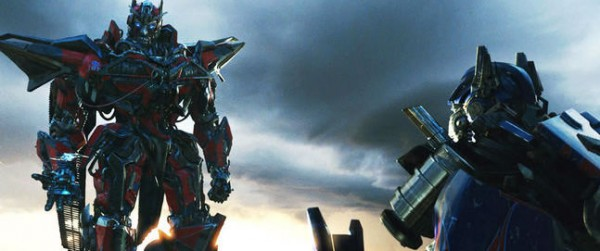 transformers dark of the moon sentinel prime and optimus prime. back for Transformers 4?