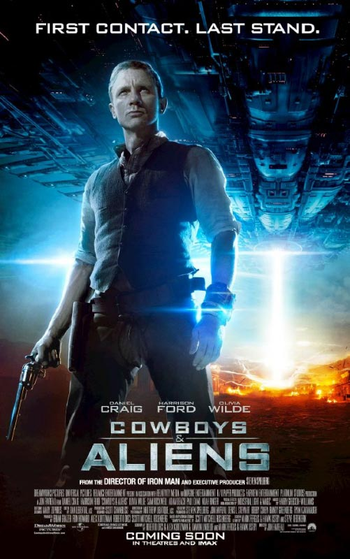 New Movie Posters From 'Cowboys Vs. Aliens' (PICS ...
