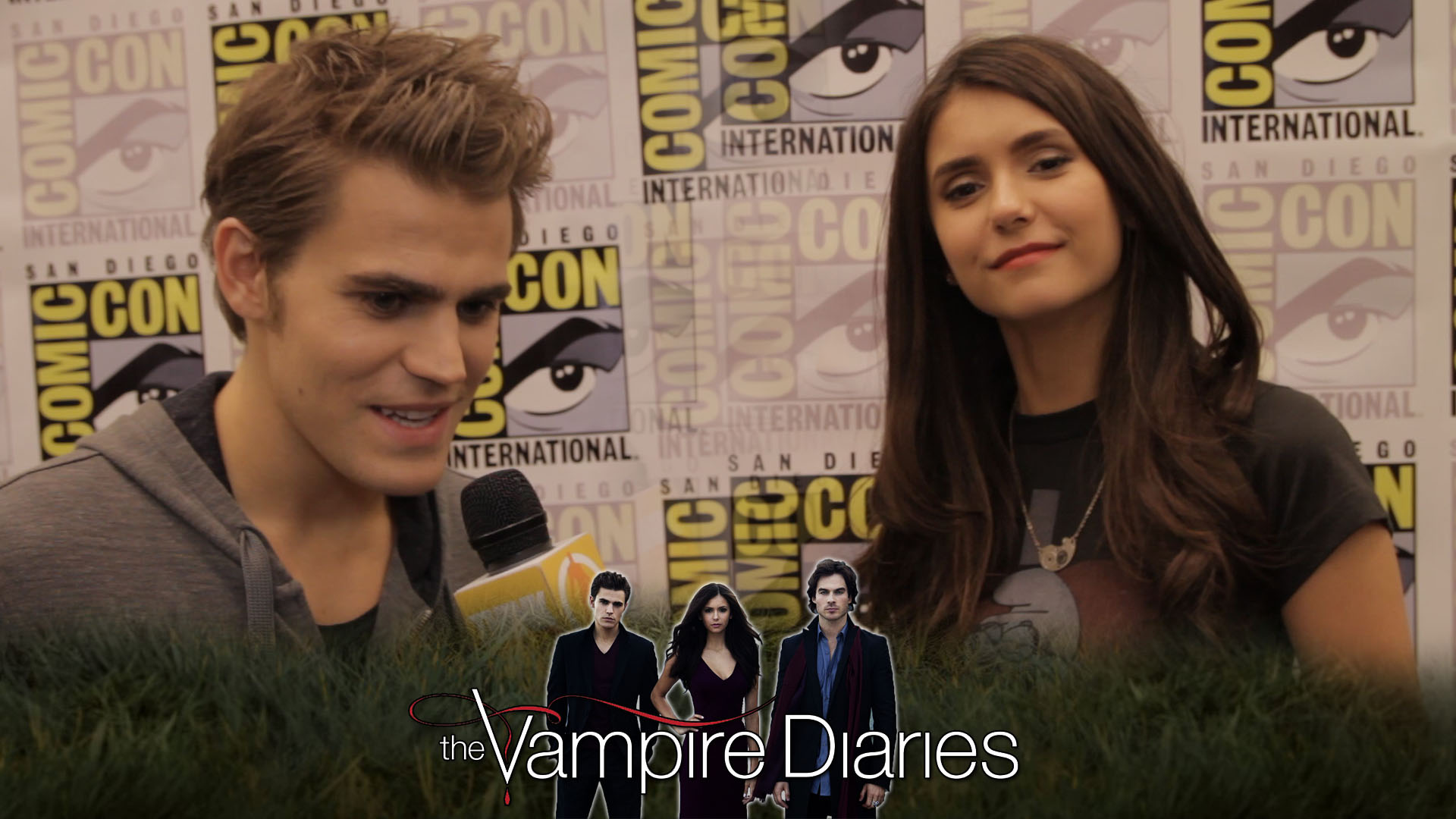 vampire diaries dating real life They may not have been given a chance to rekindle their past romance in the recently concluded supernatural drama series the vampire diaries (twd), but could paul wesley and nina dobrev be dating in real life.