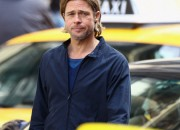 Filming Continues On World War Z Starring Brad Pitt In Glasgow