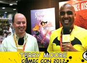 Terry Moore Comic Con 2012