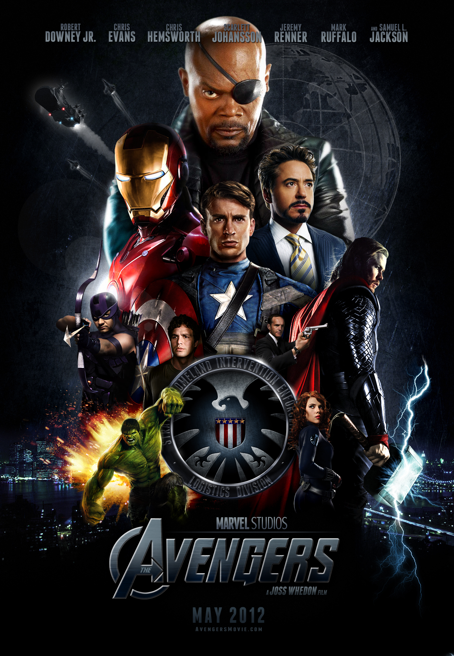 Movie Poster The Avengers
